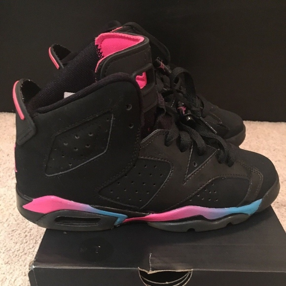 7a29ce4d496abb Jordan Other - Jordan 7 Retro BG Black Pink GS 4.5y